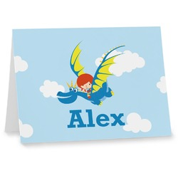 Flying a Dragon Note cards (Personalized)