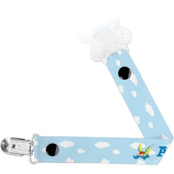 Flying a Dragon Pacifier Clips (Personalized)
