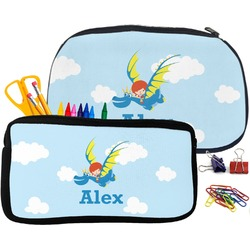 Flying a Dragon Pencil / School Supplies Bag (Personalized)
