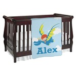 Flying a Dragon Baby Blanket (Personalized)