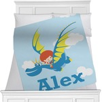 Flying a Dragon Minky Blanket (Personalized)
