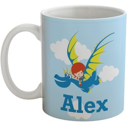 Flying a Dragon Coffee Mug (Personalized)