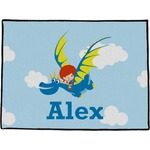 Flying a Dragon Door Mat (Personalized)