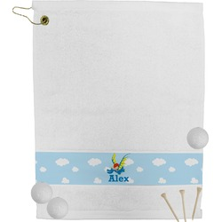 Flying a Dragon Golf Towel (Personalized)