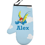 Flying a Dragon Left Oven Mitt (Personalized)