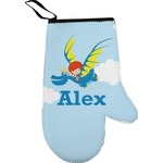 Flying a Dragon Right Oven Mitt (Personalized)
