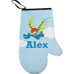 Flying a Dragon Oven Mitt (Personalized)