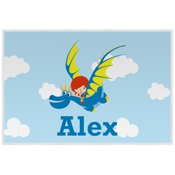 Flying a Dragon Laminated Placemat w/ Name or Text