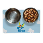 Flying a Dragon Dog Food Mat (Personalized)