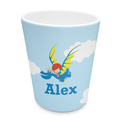 Flying a Dragon Plastic Tumbler 6oz (Personalized)