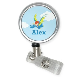 Flying a Dragon Retractable Badge Reel (Personalized)