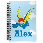 Flying a Dragon Spiral Bound Notebook (Personalized)