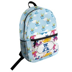Flying a Dragon Student Backpack (Personalized)