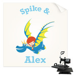 Flying a Dragon Sublimation Transfer (Personalized)