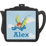 Flying a Dragon Teapot Trivet (Personalized)