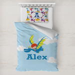 Flying a Dragon Toddler Bedding w/ Name or Text