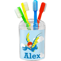 Flying a Dragon Toothbrush Holder (Personalized)