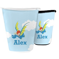 Flying a Dragon Waste Basket (Personalized)