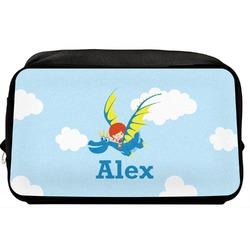 Flying a Dragon Toiletry Bag / Dopp Kit (Personalized)