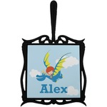 Flying a Dragon Trivet with Handle (Personalized)