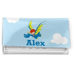 Flying a Dragon Vinyl Checkbook Cover (Personalized)
