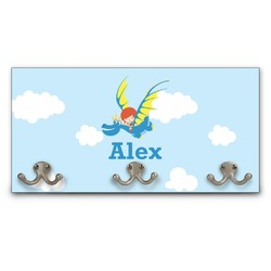 Flying a Dragon Wall Mounted Coat Rack (Personalized)