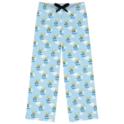 Flying a Dragon Womens Pajama Pants (Personalized)