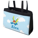 Flying a Dragon Zippered Everyday Tote (Personalized)