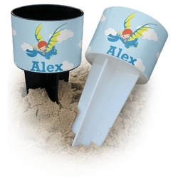 Flying a Dragon Beach Spiker Drink Holder (Personalized)