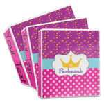Sparkle & Dots 3-Ring Binder (Personalized)