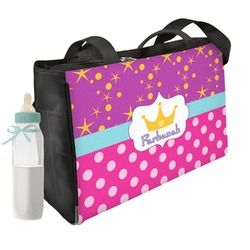 Sparkle & Dots Diaper Bag (Personalized)