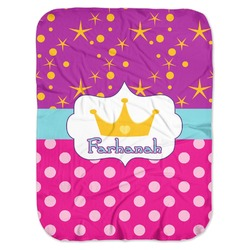 Sparkle & Dots Baby Swaddling Blanket (Personalized)