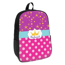 Sparkle & Dots Kids Backpack (Personalized)
