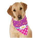 Sparkle & Dots Dog Bandana Scarf w/ Name or Text