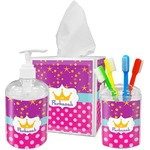 Sparkle & Dots Bathroom Accessories Set (Personalized)