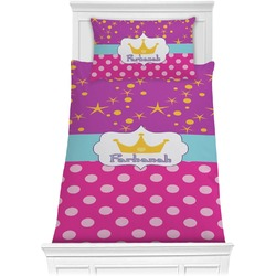 Sparkle & Dots Comforter Set - Twin (Personalized)