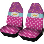 Sparkle & Dots Car Seat Covers (Set of Two) (Personalized)