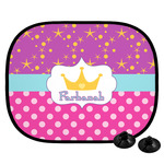 Sparkle & Dots Car Side Window Sun Shade (Personalized)