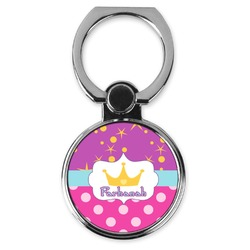 Sparkle & Dots Cell Phone Ring Stand & Holder (Personalized)