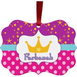 Sparkle & Dots Ornament (Personalized)