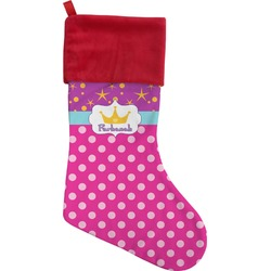 Sparkle & Dots Christmas Stocking (Personalized)