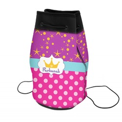 Sparkle & Dots Neoprene Drawstring Backpack (Personalized)