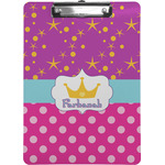 Sparkle & Dots Clipboard (Personalized)