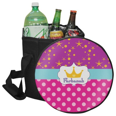 Sparkle & Dots Collapsible Cooler & Seat (Personalized)