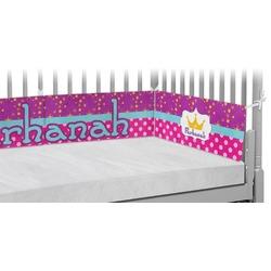 Sparkle & Dots Crib Bumper Pads (Personalized)