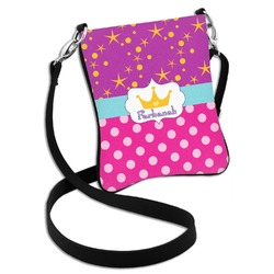 Sparkle & Dots Cross Body Bag - 2 Sizes (Personalized)