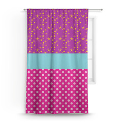 Sparkle & Dots Curtain (Personalized)