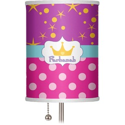 """Sparkle & Dots 7"""" Drum Lamp Shade (Personalized)"""
