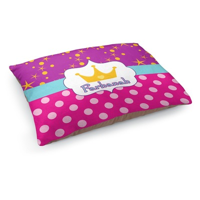 Sparkle & Dots Dog Bed (Personalized)