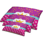 Sparkle & Dots Dog Bed w/ Name or Text